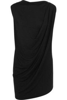 Vivienne Westwood Anglomania Luna draped jersey top | NET-A-PORTER