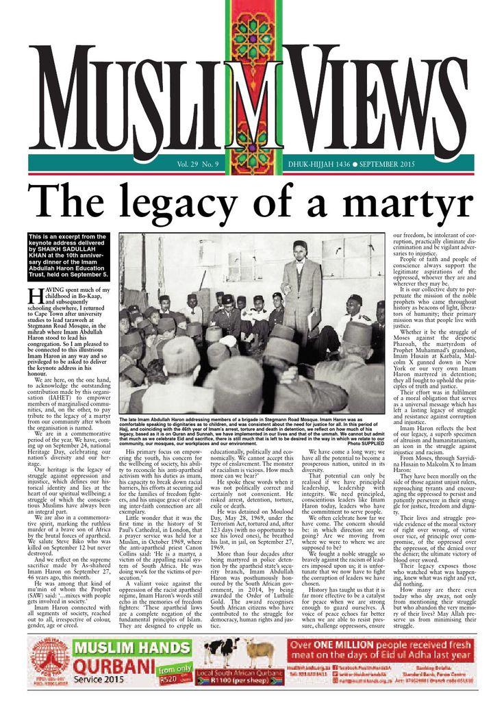 Image result for imam abdullah haron funeral