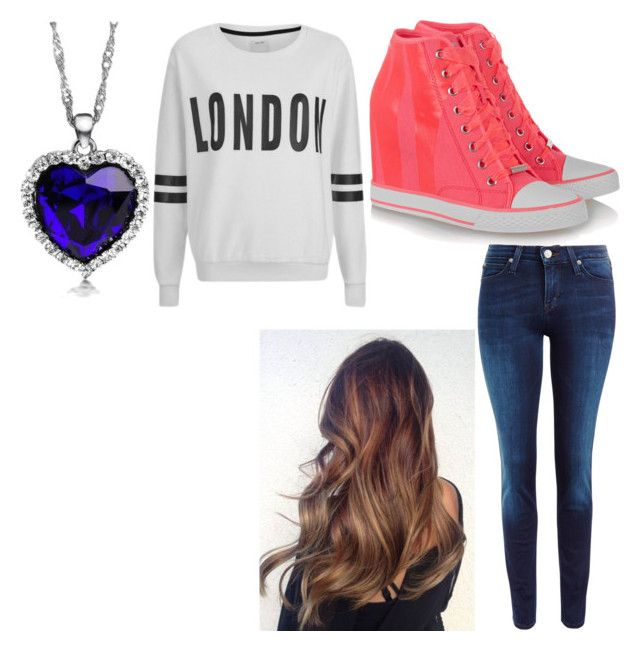 First date with Harry by aniarkdk on Polyvore featuring polyvore, fashion, style, ONLY, Lee, DKNY and clothing