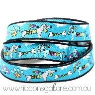 doggies ribbon | turquoise (15mm wide) : Ribbons Galore, your online store for the best ribbons #ribbonsgalore #ribbon #dog