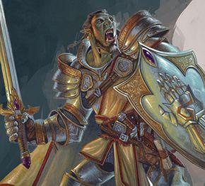 Character Sheets | Dungeons & Dragons- Half Orc Paladin