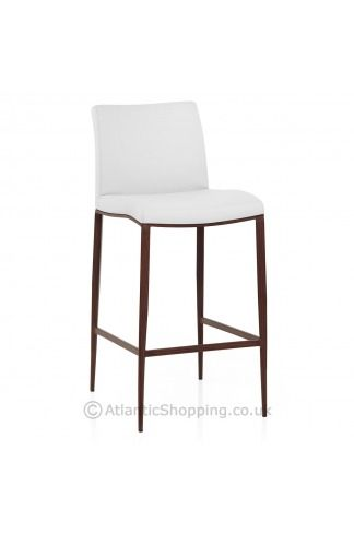 Wenge Bar Stool White. Atlantic Shopping. £99. Discount on a white on pale legs