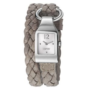 Esprit ES106182003 buckle up dameshorloges met dubbele band!