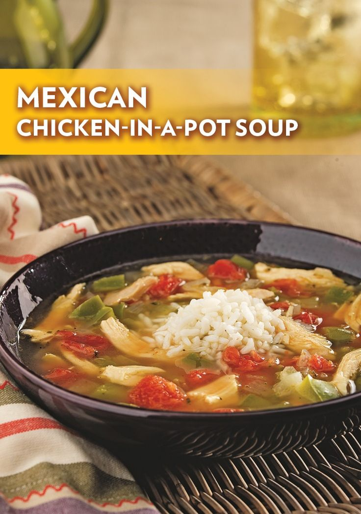 Rotisserie chicken mexican soup recipe