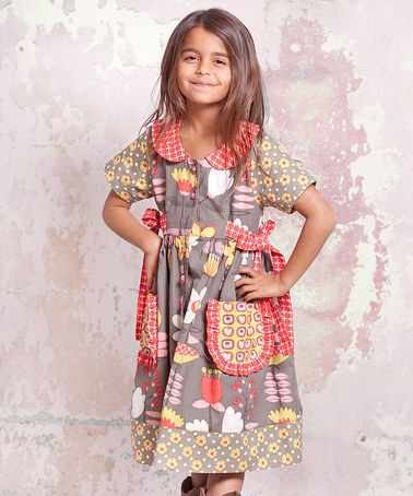 Take a look at this Indian Summer Laura Dress - Infant, Toddler & Girls by Jelly the Pug on #zulily today!