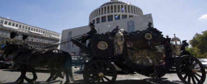 Era di Scafati il carro funebre di Vittorio Casamonica