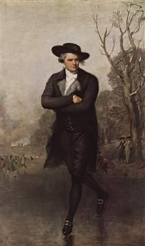 The Skater (Portrait of William Grant) - Gilbert Stuart