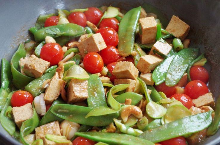 Tofu mariné - Cuisine vegan © par Fanny GRW - Recettes d'ici et d'ailleurs