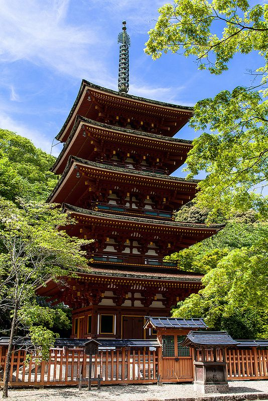 Hase-Temple of Nara Japan.