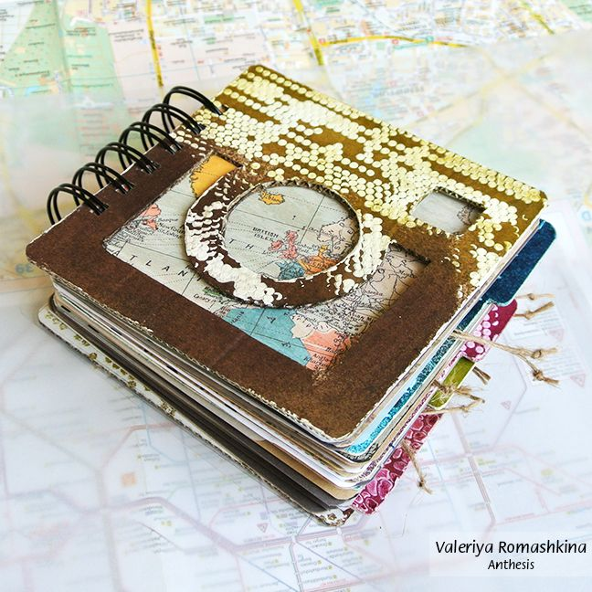 "Mini Instabook ""My trip"" Handmade travelbook for your memorabilia. http://anthesis113.blogspot.ru/2014/05/mini-instabook-trip.html"