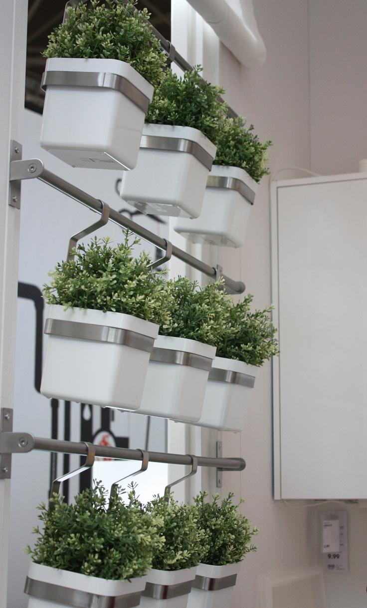 Ikea @ Woonbeurs Amsterdam 2012. Planten in de keuken.