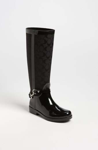 COACH ::   Lux Rain Boot Women. Love these. Now all I have to do is wait for rain or move. Lol