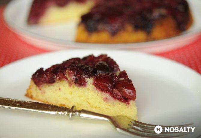 Fordított meggyes süti 2.