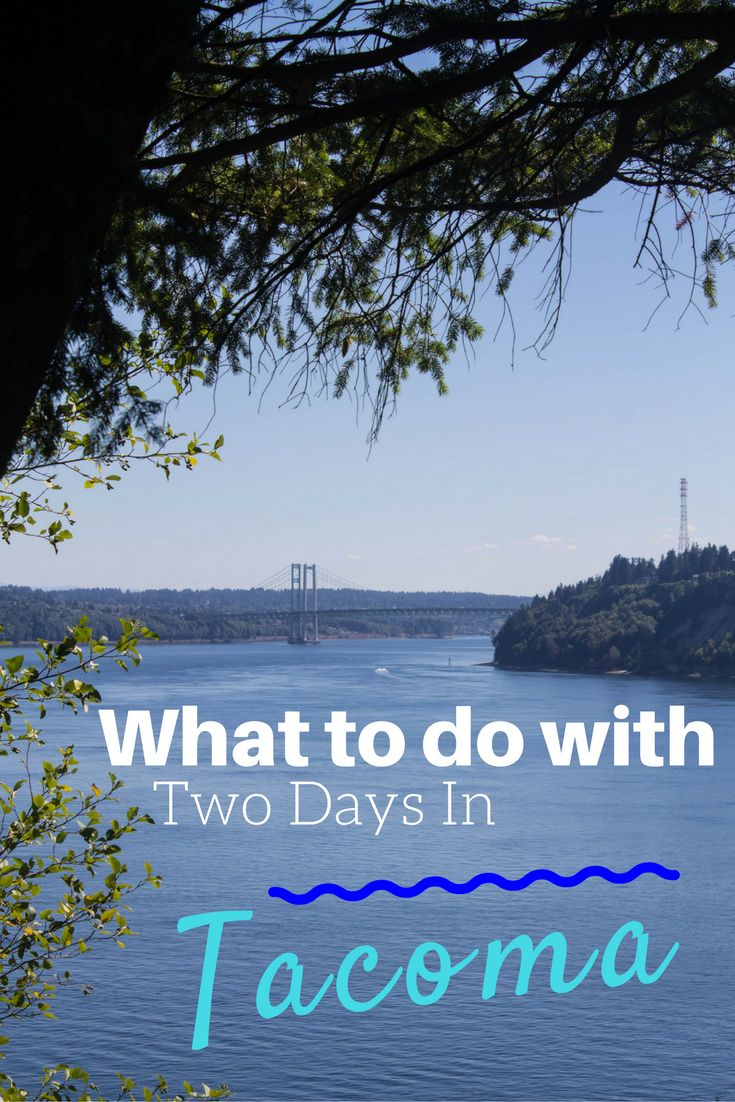 Tacoma, Washington is often overshadowed by Seattle, but there's more to see and do here than most people realize. Here's how you can spend 2 fun days in the city! // What to Do With Two Days in Tacoma, Washington - The Atlas Heart