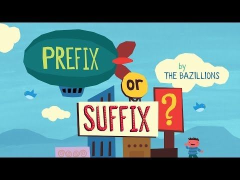"""Prefix or Suffix?"" by The Bazillions - YouTube"