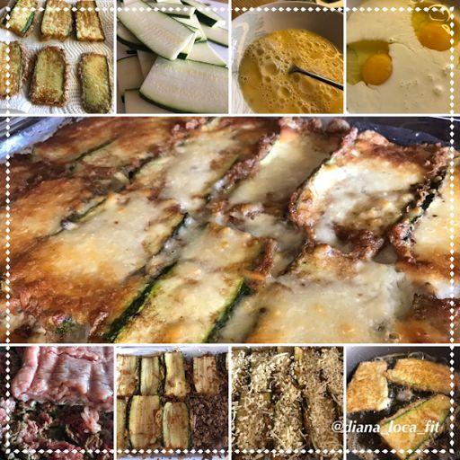 Diana`s FiT Diary: zucchini lasagna - law caloties
