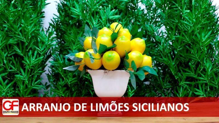 Arranjo de Limões Sicilianos