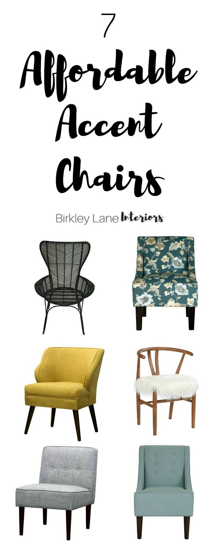 7 Affordable Accent Chairs Under 200 Accent chairs