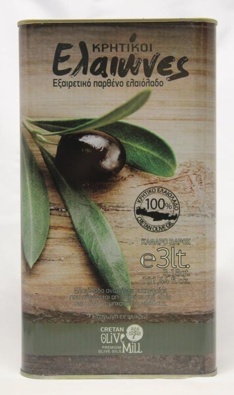 Huile d'olive extra vierge de Crète - Huile de Crète Kritiki Elaiones
