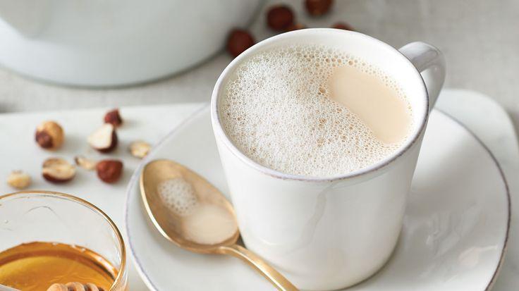 Green Tea Hazelnut Latte