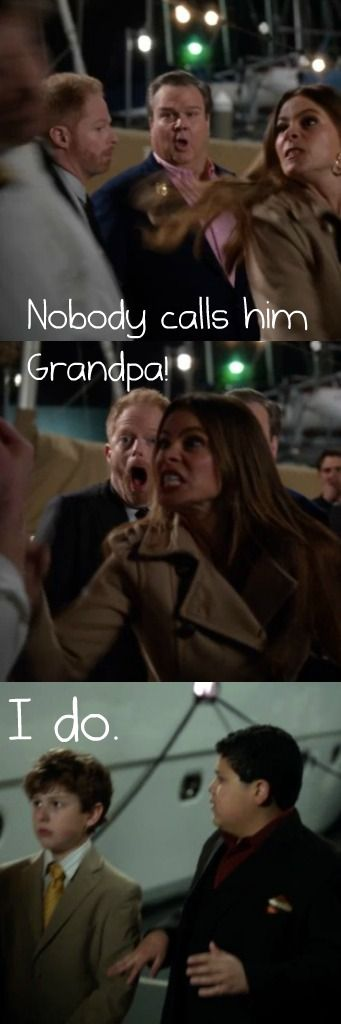 probably my favorite scene from modern family! ;)