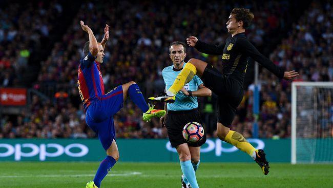 Atletico vs Barca Panaskan La Liga Pekan Ini