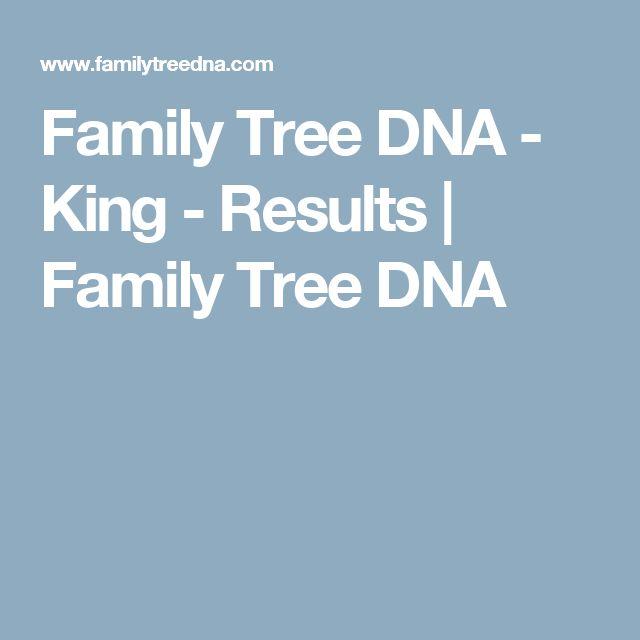 Family Tree DNA - King - Results | Family Tree DNA