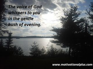 Mike Moore's Laughter Lounge : Photo Meditation: God Speaks