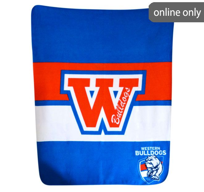 afl-team-logo-polar-fleece-printed-throw-western-bulldogs