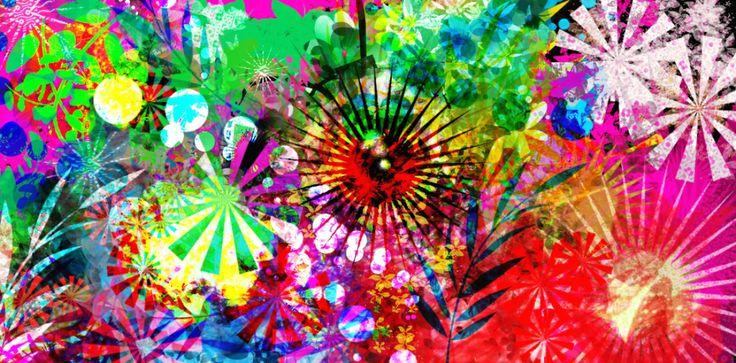 Abstract Art.....JUNGLISHUS by Amanda Osborne...thats me x
