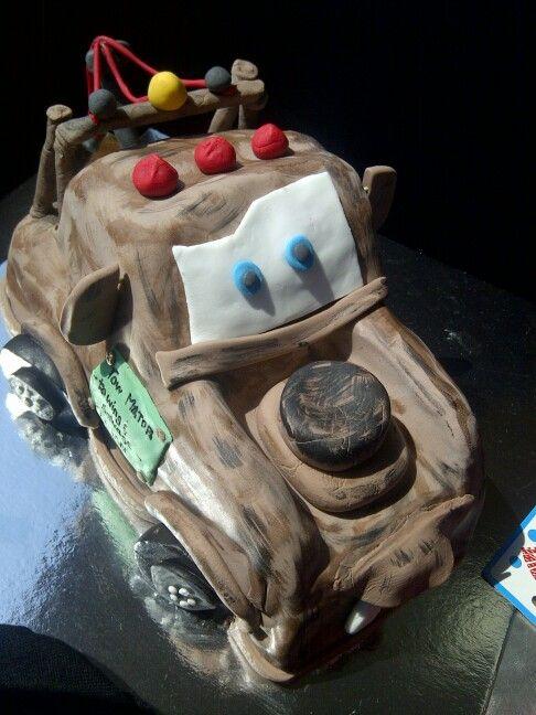 Mator cake for my nephew's 4th birthday