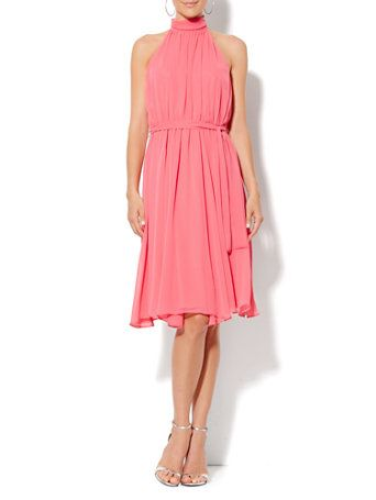 New York Company Eva Mendes Collection Whitney Halter Dress | Clothing