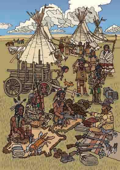 Děti prérie - kniha ze života prérijních indiánů