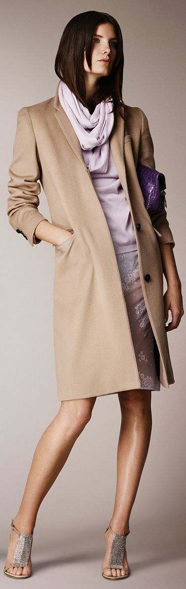 Burberry Resort 2014...love the simplicity of this outfit.