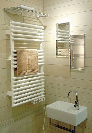 【ヒッツ】壁付けタオルウォーマー/輻射熱式電気ヒーター【DESIGN WARMER/デザインウォーマー】