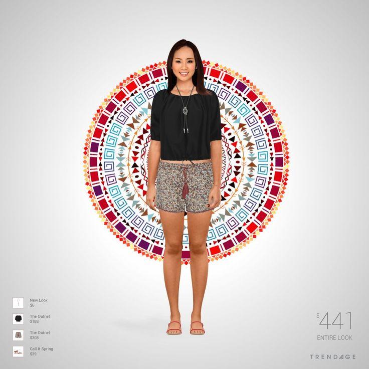 Tenue créée par Laure en utilisant les vêtements de The Outnet, New Look, Call It Spring. Look fait sur Trendage.