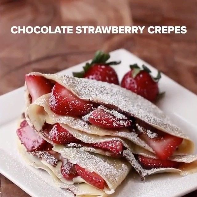 Chocolate Strawberry Crepes 🍓 - 🍽 Follow @lnstafood for Daily Food Posts 🎂 Like 10 Posts to get Noticed ✌ 🍰 #InstaFood to be featured on our page 🍫 Tag a Friend to Share - #instafood#satisfying#chocolate#delicious#food#foodporn#eating#hungry#yummy