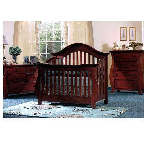 Baby Cache Oxford Lifetime Crib Cherry