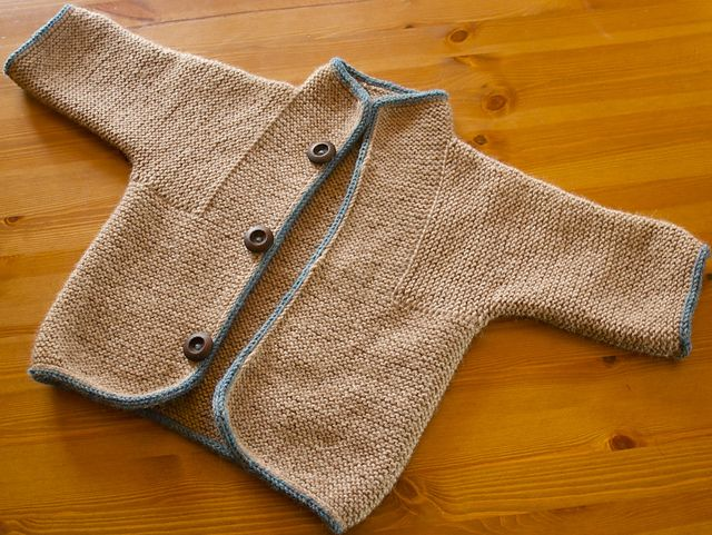 EZ Tomten Jacket, I like this one, cute for a boy. On Schoolhouse Press, you can buy a pattern for size babies, children and adults with or without a hood. http://www.schoolhousepress.com/patterns.htm