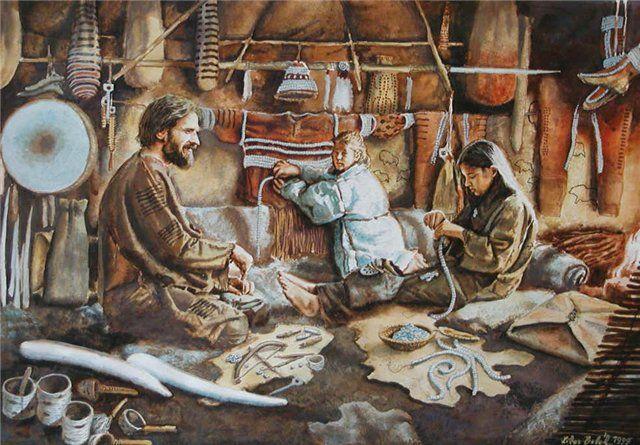 Русские в каменном веке 25 тысяч лет назад носили дублёнки со стразами | Блог Светлана Лисичкина | КОНТ