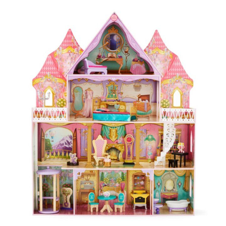 Enchanted Princess Dollhouse Detail 1 With Images Princess