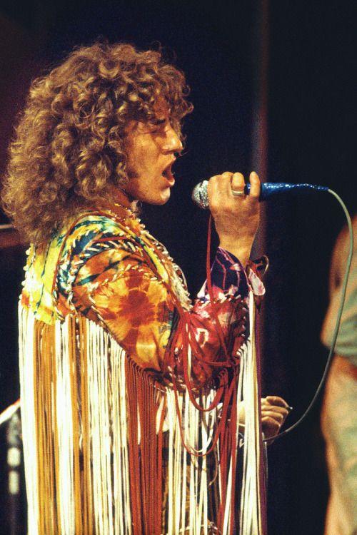 Roger Daltrey Isle Of Wight Festival 1970