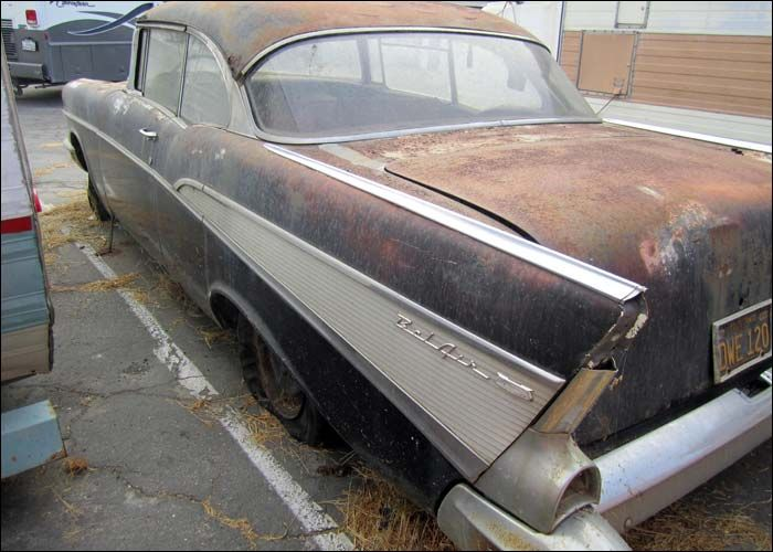 moss covered cars | Bel Air Storage Auction