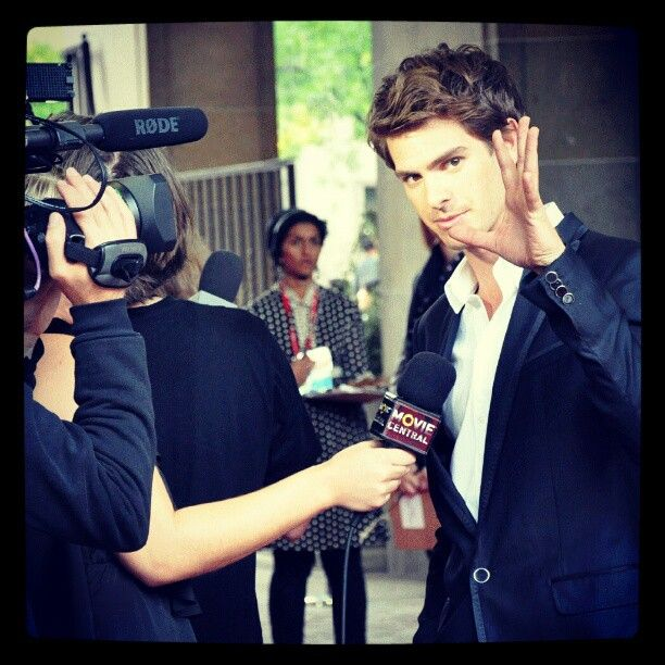 """Andrew Garfield at the Toronto International Film Festival for the screening of """"Never Let Me Go."""" Directed by Mark Romanek, the film also starred Carey Mulligan and Keira Knightley. It was based on the novel by Kazuo Ishiguro."""