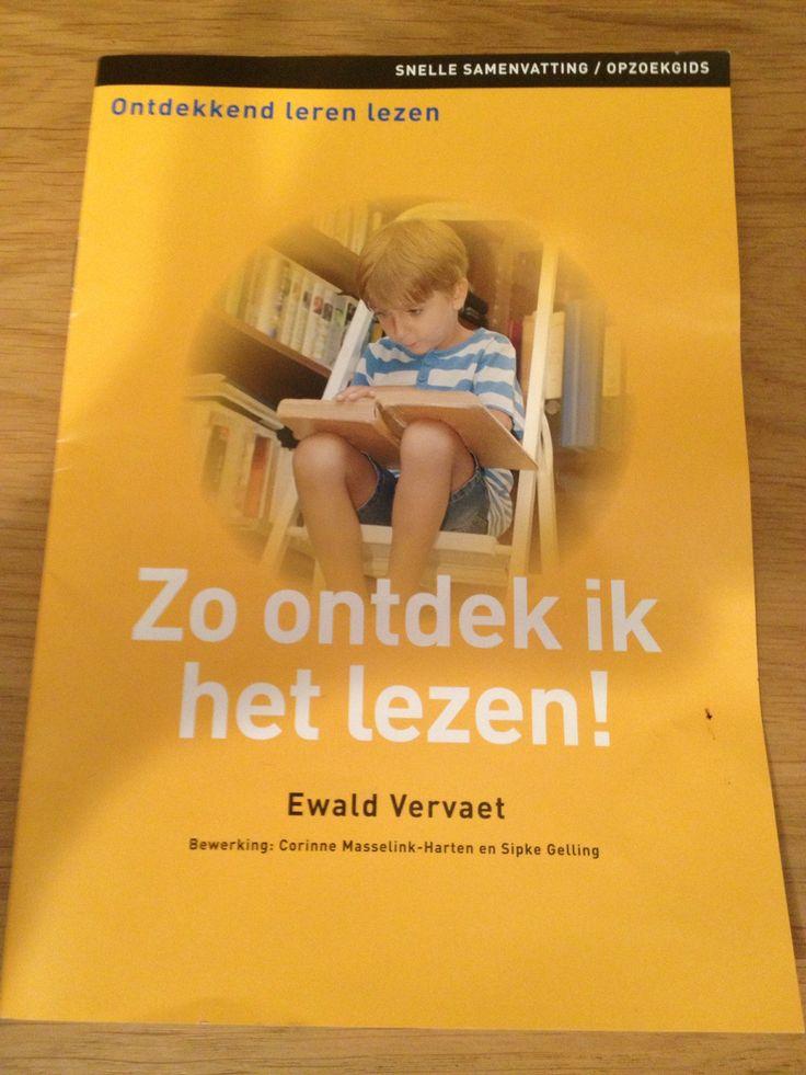 Ontdekkend leren lezen door Ewald Vervaet
