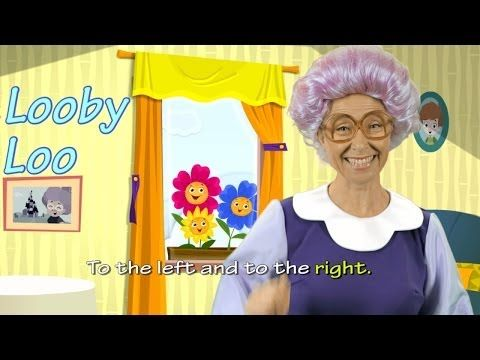 Here we go Looby Loo - English Songs for Kids