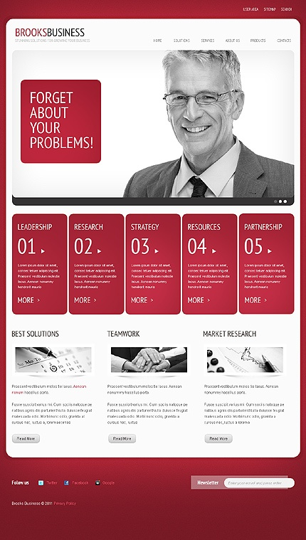 Business web design- Look sharp. It helps with the impression it makes with your audience.