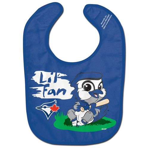 Toronto Blue Jays Lil' Fan All Pro Baby Bib -Fast and free shipping in the USA