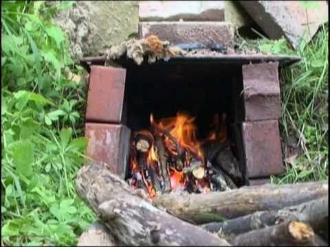Rauchbrandtöpfer 3 Brennen wie die Kelten
