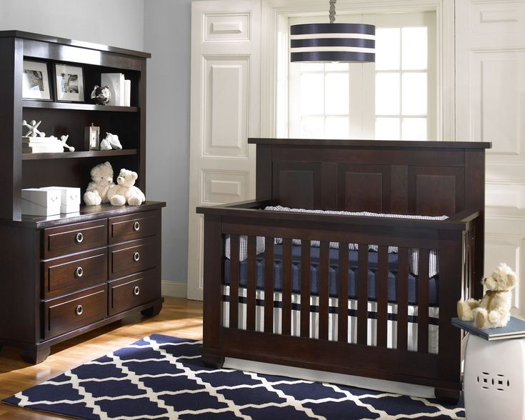 Superior Echelon Sonoma Collection Shown In Bordeaux. Solid Wood, Made In America.  All Echelon Nursery Furniture Is Available At Great Beginnings.